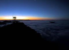 "Sunrise at Lyons Peak - via ""hpwren"" camera -- watch the **slideshow (Konabish ~ Greg Bishop) Tags: sunrise sandiegocounty forestfirelookout lyonspeak hpwren"