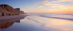 Obidos' seascape 1 (titue) Tags: sunset sea cliff costa seascape portugal landscape atardecer mar europa obidos acantilado distritodeleiria
