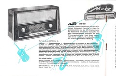 METZ Radio, Konzertschrank  und Babyphon Dealer Brochure (W-Germany 1957)_04 (MarkAmsterdam) Tags: portable radio tableradio kitchenradio plastic plaskon metal tube tuberadio transistor transistorradio vintage electronics markamsterdam mark meijster markmeijster old collectible forties fifties sixties 40's 50's 60's handheld pocketradio design retro colorful coatradio fashioned early electrical equipment battery atomic eames era ad advertising sign advertisement carradio tv phonograph tovertoom collection dealer sheet folder brochure portfolio booklet engineering pickup console fernseher musiktruhe phono cartridge tsf magnetophon classic museum tape recorder deck catalog sales record changer tone arm