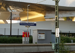 Railway Station At Porsche Museum (mrstaff) Tags: germany 911 cayman boxster luxury 904 917 gt2 sportscar carrera gt3 356 959 908 gt1 racinghistory canonpowershotg12 martinstafford d70435stuttgartzuffenhausen july9tojuly112012 porschemuseumandfactory porscheplatz1