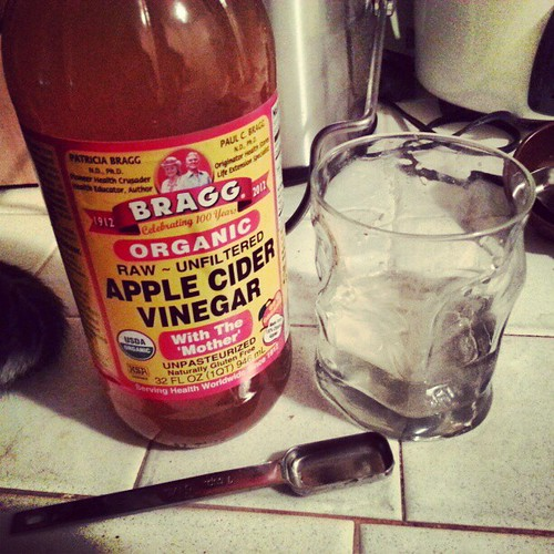 Trying the whole apple cider vinegar thi by Shockingly Tasty, on Flickr