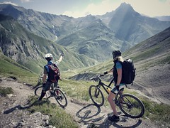 Down there (Kaspartheater) Tags: bike panasonic mtb engadin sesvenna m43 uina gf1 m43ftw