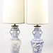 169. Pair of Oriental Porcelain Lamps