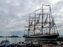 Sedov en Valparaso (RiveraNotario) Tags: chile barcos russia valparaso barque rusia sedov stssedov bricbarca