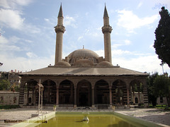 Sulayman's hospice (Mohanad Alsous  ) Tags: architecture islam prayer culture mosque hospice syria sultan ottoman oriental damascus islamic sulayman syrian  mohanad                    alsous