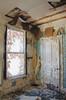 (yyellowbird) Tags: door wallpaper house abandoned window corner illinois cairo cairoillinois