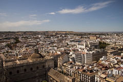 Sevilla from La Giralda (xjamesdejesusx) Tags: city sevilla spain rooftops horizon giralda