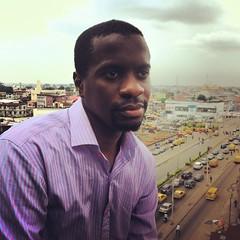 Femi Longe, co-founder of the Co-Creation Hub in Lagos, Nigeria