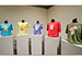 Screen-printed, recycled t-shirts on mannequins, 2007, ©Laurie Hogin139_lg.jpg