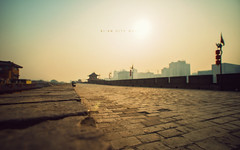 Day 7: Xi'an - City Wall (isayx3) Tags: china city trip travel wall project nikon angle bokeh wide culture sigma xian nikkor fortification ming ultra f28 dynasty d800 14mm plainjoephotoblogcom