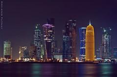 Dazzling Doha (puthoOr photOgraphy) Tags: dk doha qatar lightroom westbay dohaqatar d90 adobelightroom dohacorniche tokina100mm28 nikond90 tokina100mmf28atxprod lightroom3 amazingqatar puthoor dohabynight gettyimagehq puthoorphotography