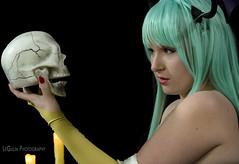Morrigan (LeGulin) Tags: mystery night cosplay murder theather morigan