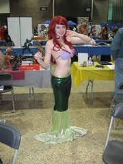 Central Canada Comic Con 2010: Ariel (pseudohistorian) Tags: ariel winnipeg cosplay disney mermaids redheads royalty princesses atlantica gingers hanschristianandersen thelittlemermaid arielsgrotto thingamabobs disneyprincesses waltdisneypictures merfolk princessariel thewaltdisneycompany atlanteans partofyourworld disneyrenaissance centralcanadacomiccon seashellbikini
