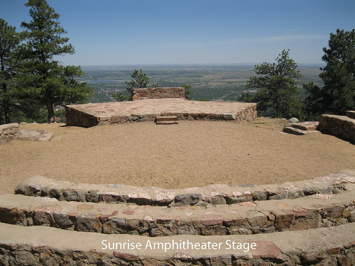 Photo - The Amphitheater stage