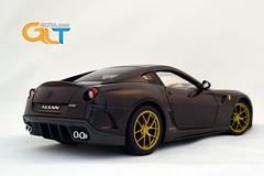 Ferrari 599 gto michael mann 1 18 hot wheels elite limited edition