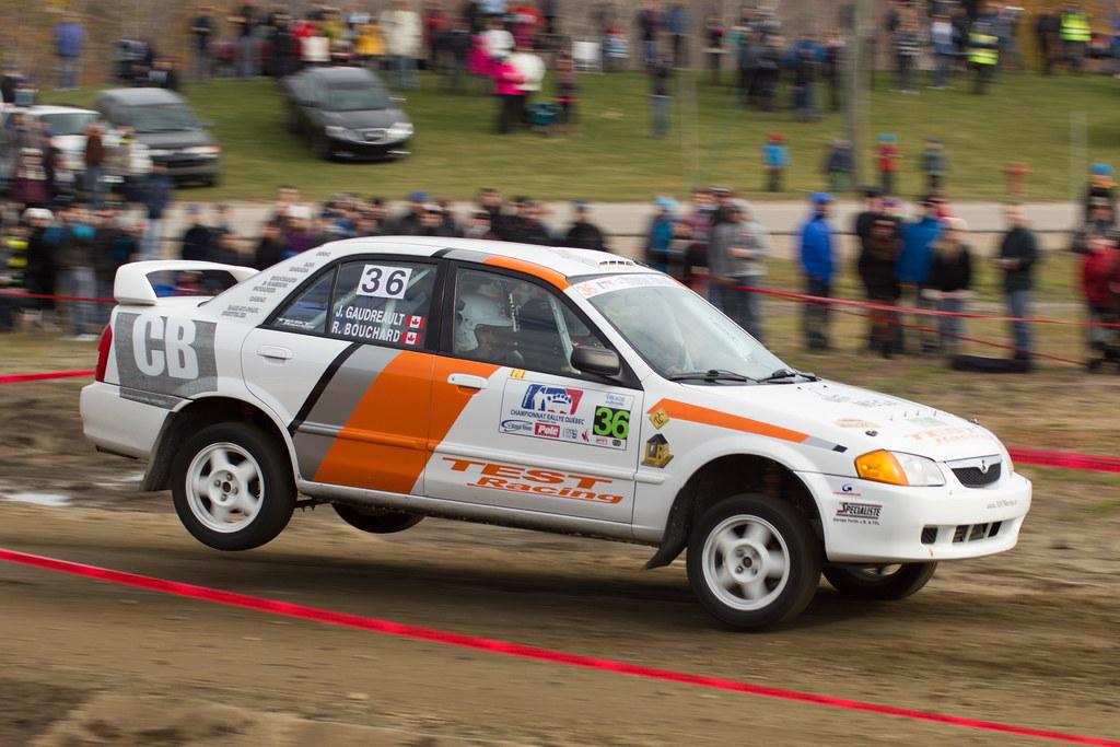 Richard Bouchard / Jasmin Gaudreau - Rallye de Charlevoix 2012