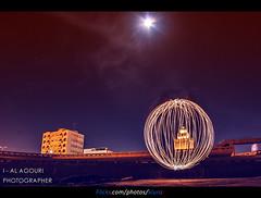 ( [ Libya Photographer ]) Tags: light ball long exposure an libya libyan benghazi libia libye libi  libyen  lbia  libi     libija  geogr   nc        lbija  liiba    lba
