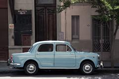 Da 53 (Mariana Eme) Tags: auto car calle ciudad vereda celeste estacionamiento estacionado autoantiguo nikond3100