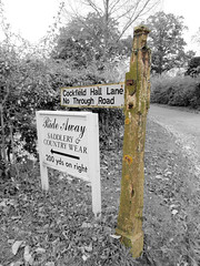 Old post (The original SimonB) Tags: old sign concrete suffolk october post samsung weathered decayed 2012 westerfield autumnul wb690