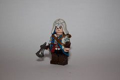 Custom Lego Connor Kenway (Ratonhnhak:ton) Assaasins Creed 3 (Re-Doing/WIP) (CommanderKaru) Tags: 3 lego hidden revolution desmond blade rise custom conner creed assassins tomohawk kenway ac3 ratonhnhakton