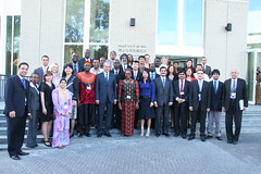 Group picture with the DG of the OPCW_2011