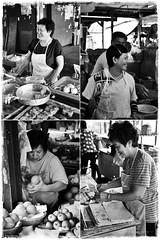 The Ladies of Pasir Puteh Market (J2Kfm) Tags: bw photography market streetfood ipoh perak pasirputeh