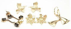 1042. Four Pairs of Gold Earrings