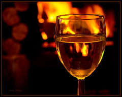 Winter's Here! (Ken Came) Tags: pictures life winter still log wine burner 112 2012