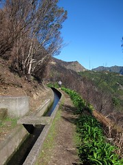 View north from the Levada do Norte
