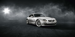 BMW Z4 (CiprianMihai) Tags: light cars car canon photography eos lights photo photos smoke performance scene location bmw z4 cabrio coupe ciprian 40d worldcars ciprianmihai