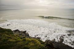 Wrestles (KernowSnapper) Tags: uk winter sea cliff seascape glass landscape rocks cornwall wind offshore south barrel wave peak surfing surfers swell aframe porthleven