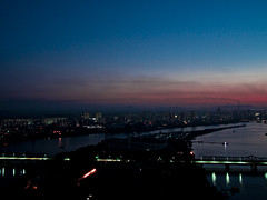 Pyongyang (mardruck) Tags: panorama pen sunrise four lumix hotel republic north olympus korea panasonic peoples international micro 17 20mm democratic northkorea thirds ep3 pyongyang dprk f17 m43 yanggakdo 평양 조선민주주의인민공화국 양각도국제호텔
