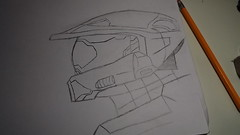 Chief Sketch (McCluckles) Tags: sketch chief halo wip