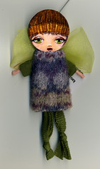 Irene (Frilled Daisy) Tags: dolls ornaments handpainted fabris