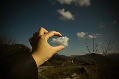 Cloning clouds (Immacolata Giordano) Tags: sky clouds nikon nuvola cielo cristo maratea sanbiagio cristodimaratea nikond7000 santuariodisanbiagio
