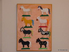 Pferdchen Parade aus Bgelperlen (petuniad) Tags: kidsart prlplattor hamabeads perlerbeads strijkkralen bgelperlen buegelperlen