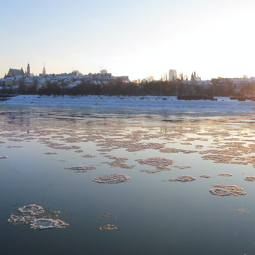 Vistula in Winter