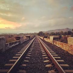 Tracks (Dirk Dallas) Tags: california sky