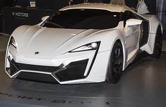 W Motors Lykan Hypersport 2013 (80sChiyuld) Tags: white car canon automobile arab arabian supercar sportscar doha qatar hypercar hypersport lykan wmotors qatarmotorshow2013