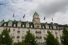 Grand Hotel, Oslo (sdhweb) Tags: buildings contructions architecture building construction manmade norway outdoors grand hotel oslo old mansion