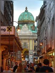 Hofburg Michaelertor (T.S.Photo (Teodor Sirbu)) Tags: vienna wien hofburg austria osterreich blue hour