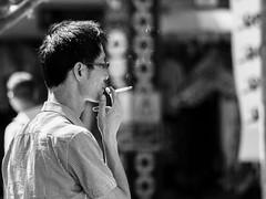 Smoke relax (frolik2001) Tags: artinbw aislado bw bn blancoynegro blackwhite callejeo city calle ciudad d7100 eduardoaponce explore frolik2001 flickr isolated nikond7100 light nikon85f18 lifestyle relaxing street streetphotography tiempo time urban urbana urbanlifeinmetropolis urbanarte
