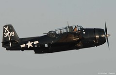 Planes of Fame Air Show 2016 - General Motors TBM-3E Avenger; BuNo. 85938, N7226C (g_takeuchi) Tags: planesoffame airshow 2016 chino cno california airplane airplanes plane planes aircraft aeroplane aeroplanes warbird warbirds flying flight flyable airworthy war worldwarii wwii worldwar2 ww2 texasflyinglegends tfl american bomber torpedobomber generalmotors tbm3e tbm3 tbm avenger 85938 n7226c dsc4931c takeoff airport chinoairport kcno