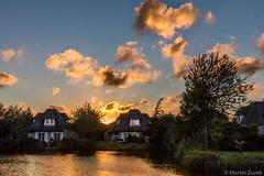 Exploding Sky (Martin Zurek) Tags: nederland netherlands sky clouds light canon5dsr 5dsr 5d landscape water sea resort vacation cittaromana sunset glow