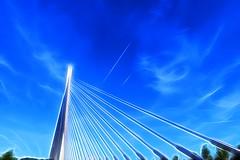 Pont de Lige (philippejeanne) Tags: merveilleux moderne modernit mouvement douceur direction douteux direct kermesse kaki