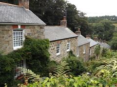 Terraced Houses in St Agnes, Cornwall, 5 September 2016 (AndrewDixon2812) Tags: stagnes cornwall terrace terraced houses trevaunance cove