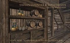 TavernCounterAndShelf_Hesius2 (nea.narstrom) Tags: medieval tavern inn pub brothel longhall