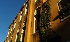 (Rov79) Tags: colorato colorfull contrasto contrast venice venezia casa cielo sky blu edera