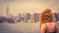 Melancholia (estellerobertnyc) Tags: brooklyn manhattan nyc newyork gingerhair goodbye hairmodel melancholia sad splittoning