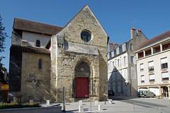 Nevers (Nivre) (sybarite48) Tags: nivre nevers france glisenotredame glisesaintgenest glise kirche church   iglesia  chiesa kerk koci igreja  kilise